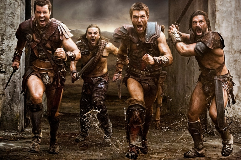 Dan-Feuerriegel-is-Agron-Dustin-Clare-is-Gannicus-Liam-McIntyre-is-Spartacus-Manu-Bennett-is-Crixus