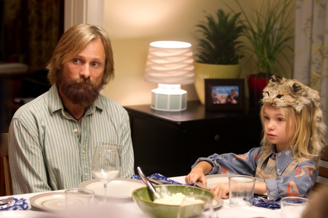 CF_01027_R_CROP (l to r) Viggo Mortensen stars as Ben and Shree Crooks as Zaja in CAPTAIN FANTASTIC, a Bleecker Street release. Credit: Erik Simkins / Bleecker Street